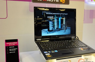 LG Xnote A510, LG First 3D Notebook Announced