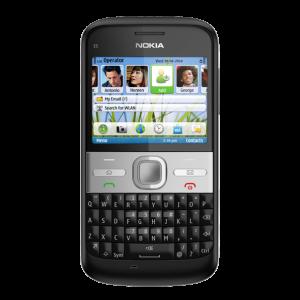 nokia E5 front black 604x604