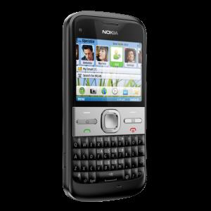 nokia E5 front left black 604x604