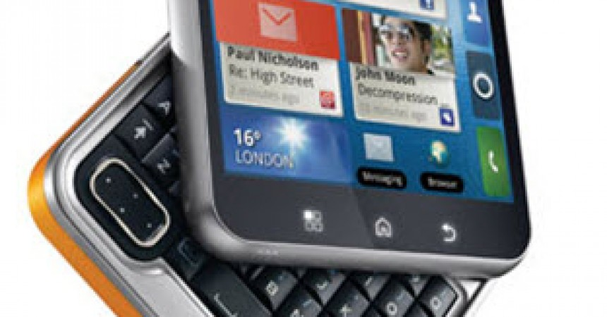 Motorola Flipout Launched at Price of Rs.15990 in India