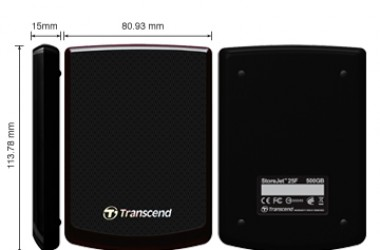 Transcend StoreJet 25F 500 GB HDD Review