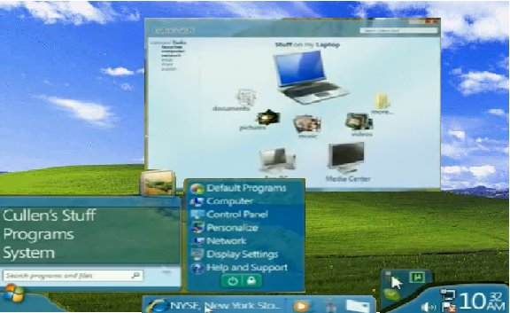 64 Bit Windows 8 Desktop UI will be fully 3D and will be requiring 170 MB of