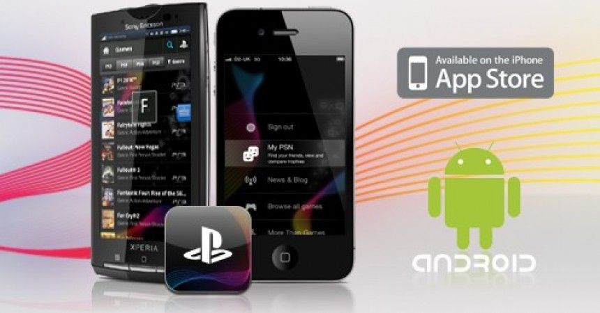 PlayStation Application for Android 1.6+ and iPhone Users