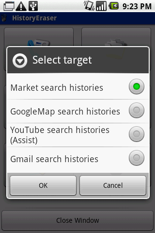 History Eraser Android App Free Review