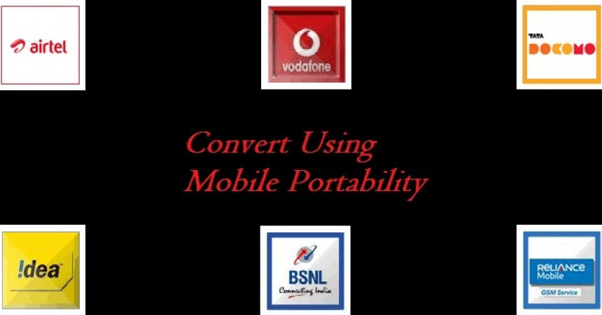 How to use or do Mobile Number Portability