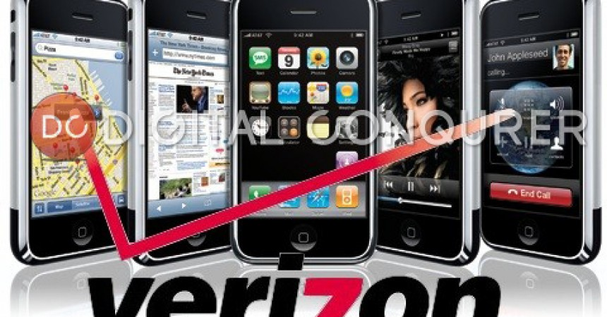 iPhone on Verizon Pre Order Starting At 3 AM on 3rd February 2011