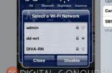 Change Wifi Network Quickly On iPhone With YFiSelect4 [Jailbreak Only]