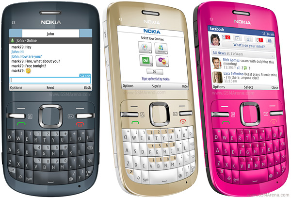 Flaws in Nokia C3 [Nokia C3-00 Bugs]