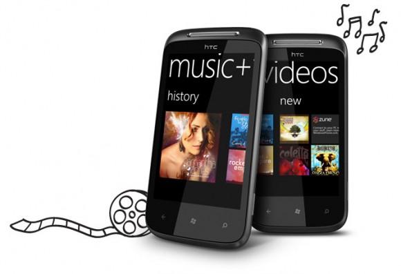 HTC Mozart 7 Windows 7 Smartphone