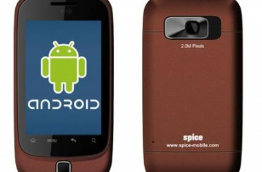 Spice Mi-310 Hands On Review & Features [Low Cost Android]