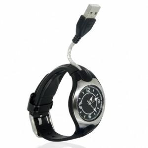 A USB wristwatch