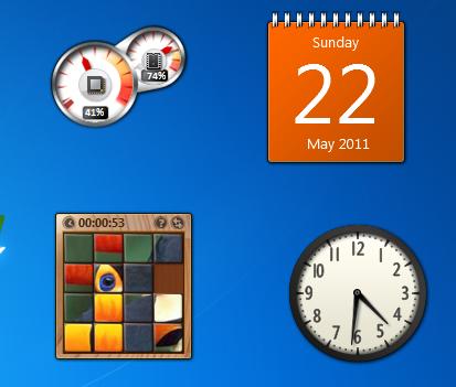 Windows Desktop gadget