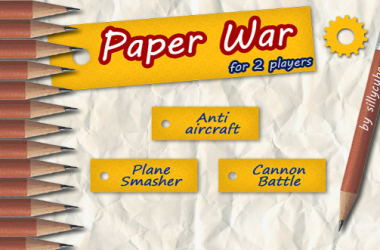 Paper War For 2 Players – A Cool 2 Player Game For Your Android [Game Review]