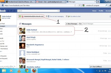 How to Get or Activate Facebook E-Mail