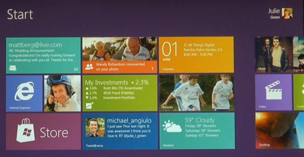 Microsoft Windows 8 Features