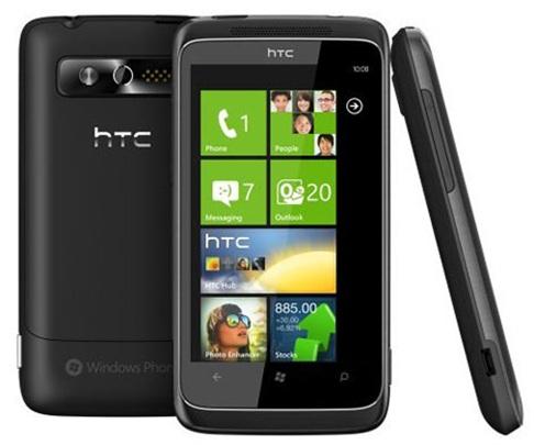 Verizon HTC Trophy Windows Phone 7