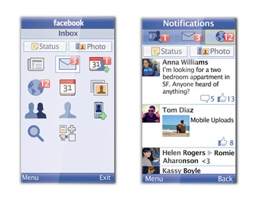 Free Facebook App for Java Phones