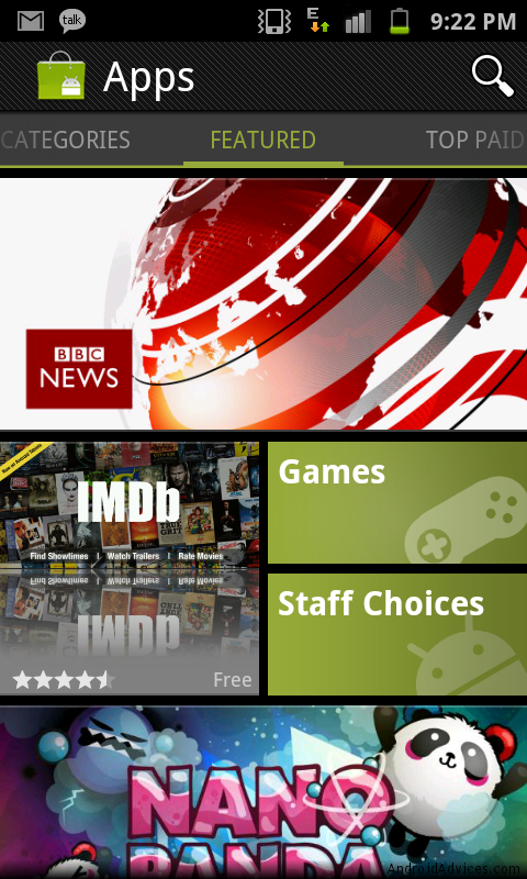 New Android Market Download APK