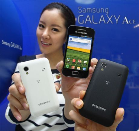 Samsung Galaxy Ace Hands On Review