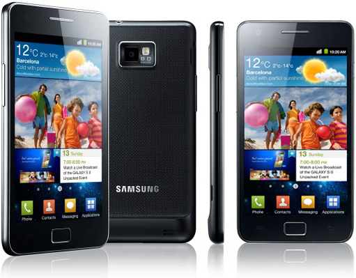 Samsung Galaxy S II - Top 5 Upcoming Smartphone that Compete with iPhone 5