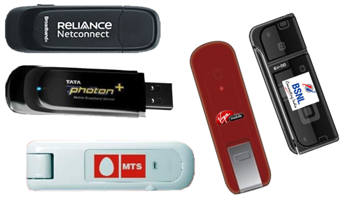 Netconnect+, Photon+, Mblaze, BSNL 3G in Ubuntu