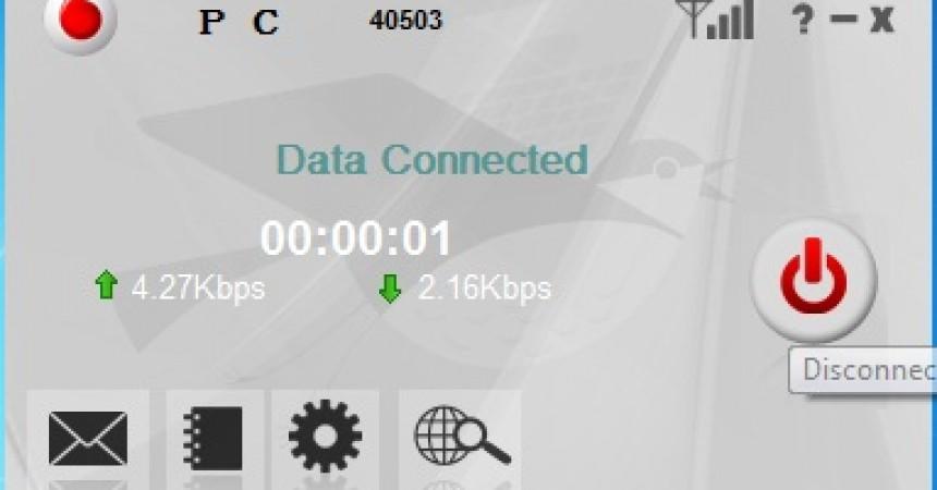 Download Unlocked Vodafone ZTE  Dialer Dashboard Software (Firmware)