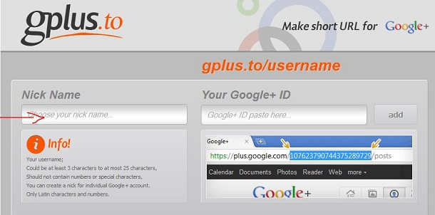 Google Gplus.to
