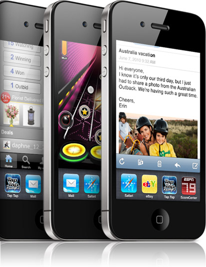 apple iphone ios 4