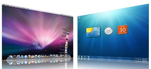 Mac OS X Snow Leopard and Windows OS1