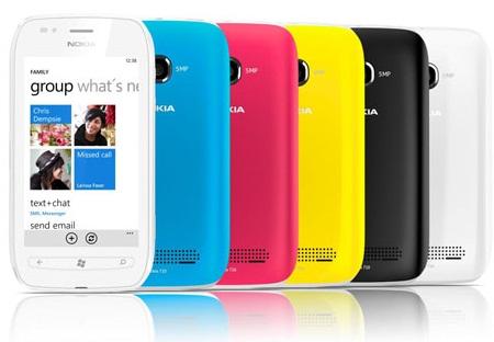 Nokia Lumia  710 Windows Phone 7