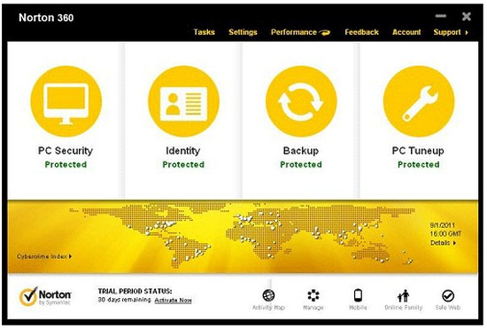 Norton 360 Version 6 Beta