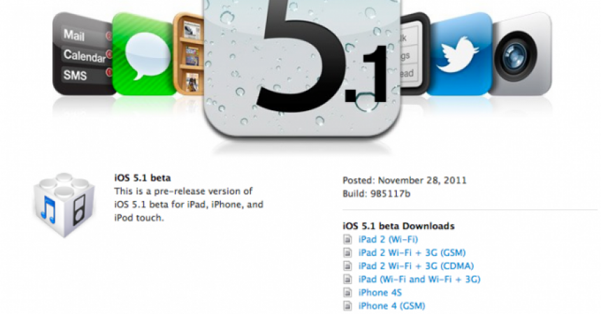 iOS 5.1 News Roundup:  New iPhone, iPad, Possibly Apple TV !