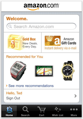Amazon App Holiday