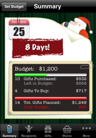 Santa's App For iPhone Holiday Season