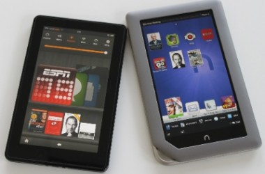 7 Inch Display Tablet Demand Growing Thanks to Nook & Kindle Fire