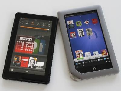 Nook & Kindle Fire Tablet