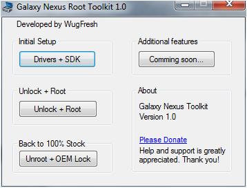Galaxy Nexus Rooting