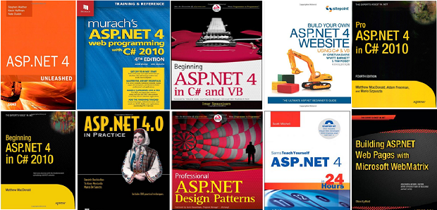 Top Books for ASP NET Learners