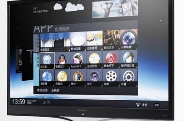 Android Ice Cream Sandwich TV Introduces By Lenovo [3D LED TV]