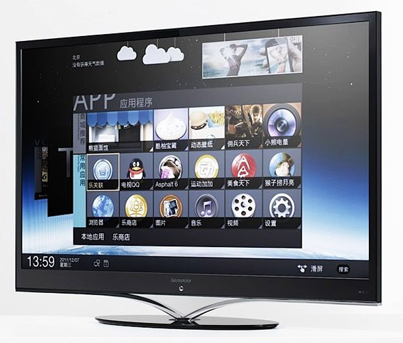 Lenovo LED TV with Android 4.0  ICS
