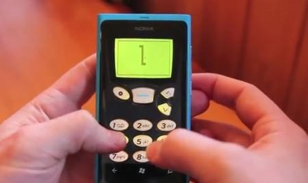 Snake' 97 Game Demo on Windows Phone 7
