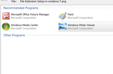 How to Permanently Fix Default Programs For File Extensions In Windows