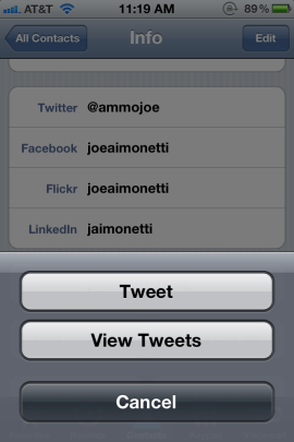 Sync Twitter Data to Your iOS Devices