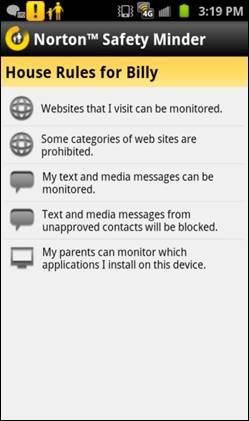 Norton Parental Control App 21
