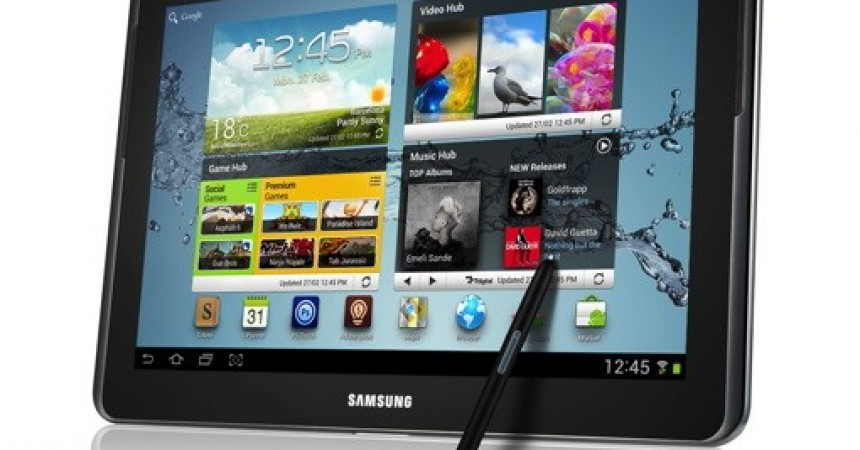 Galaxy Note 10.1 Comes With ICS S Pen And Big Display [MWC 2012]