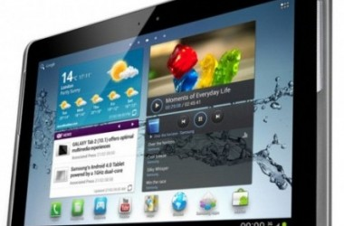 Samsung Galaxy Tab 2 (10.1) Comes With An ICS Update [MWC 2012]