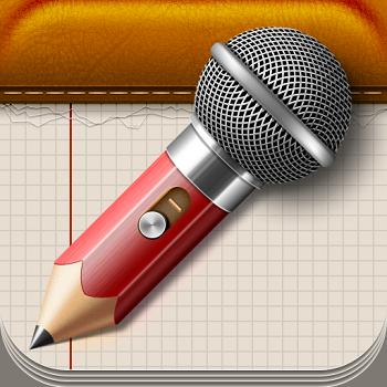 AudioNotepad HD App for iPad