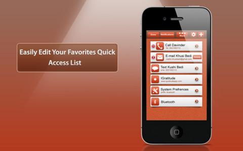 Quick Launch iPhone App