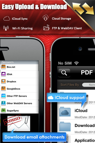 iPhone App For PDF Reader Sync