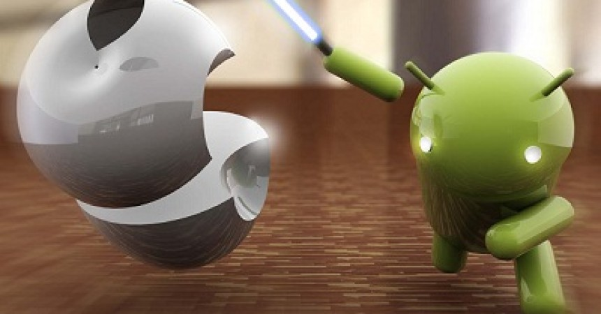 Android VS iOS: The Never Ending War